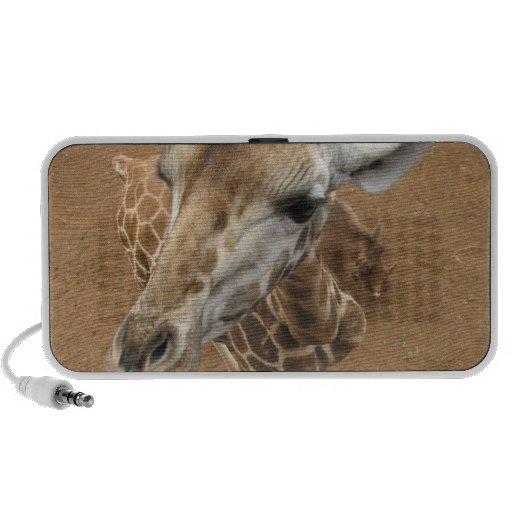 Giraffe Gaze  Speakers