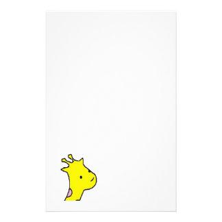 Giraffe giraffe giraffe letter set stationery paper