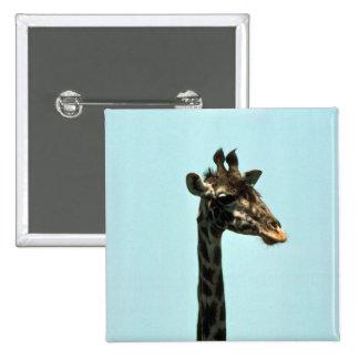Giraffe - Head Shot Button