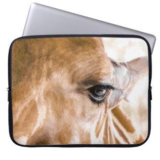 Giraffe Hello Laptop Sleeve