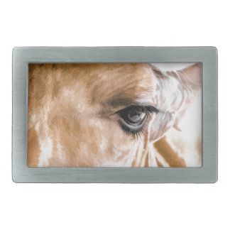 Giraffe Hello Rectangular Belt Buckle