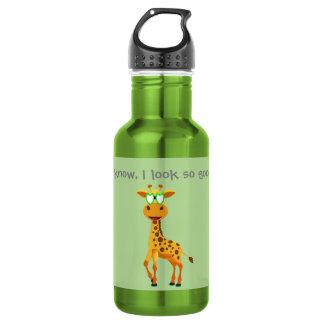 giraffe in a bottle