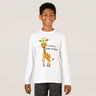 giraffe in style with glasses for boy T-Shirt
