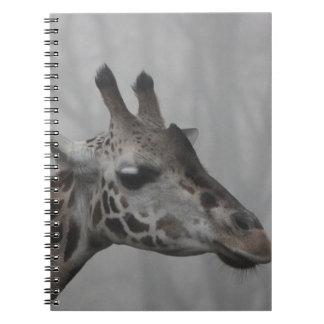 Giraffe in the Fog Notebooks