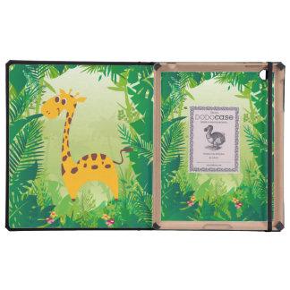 Giraffe iPad Cover