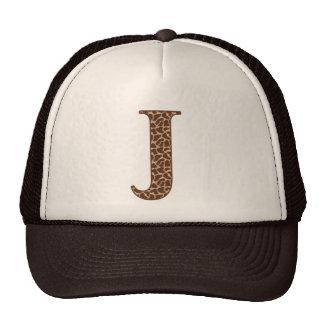 Giraffe J Trucker Hat