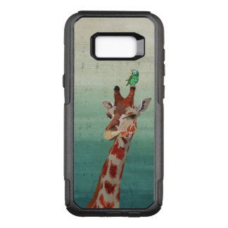 Giraffe & Jade Parrot OtterBox Commuter Samsung Galaxy S8+ Case