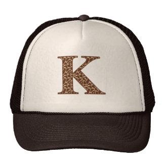 Giraffe K Hats