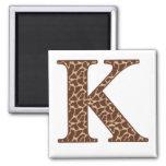 Giraffe K Magnets