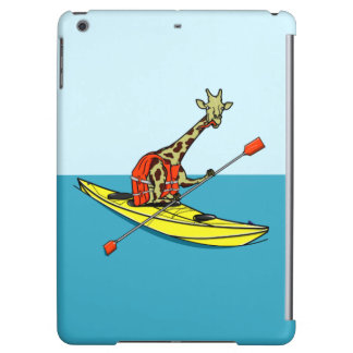 Giraffe Kayaking