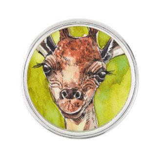 Giraffe Lapel Pin
