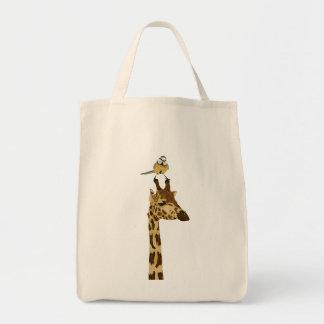 Giraffe & Little Bird Bag