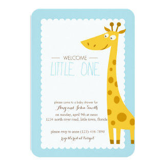 Browse Zazzle's Giraffe Baby Shower Invitations Collection and personalise by colour, design, or style.