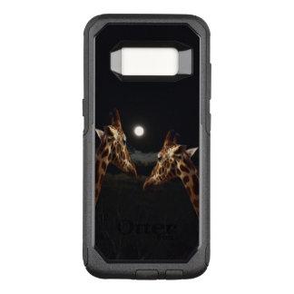 Giraffe Love In Moonlight, Samsung Galaxy S8 Case