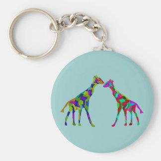 Giraffe Luv Keychains