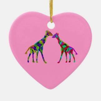 Giraffe Luv Ornaments