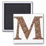 Giraffe M Magnet