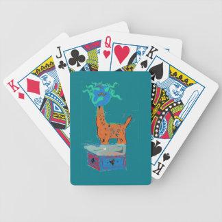 Giraffe Magic Bicycle Playing Cards