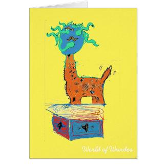 Giraffe Magic Card
