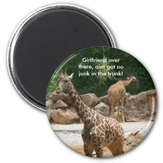 Giraffe Magnet - Customized