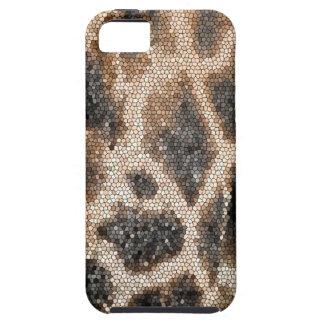 Giraffe mosaic iPhone 5 cover