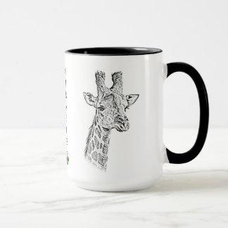 Giraffe Mug - Africa Series
