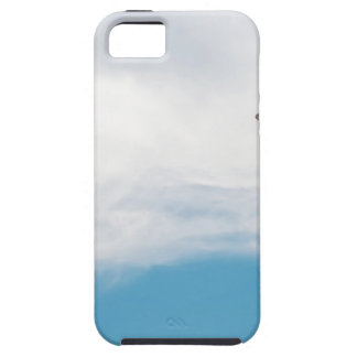 Giraffe neck and head against the clear blue sky tough iPhone 5 case