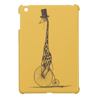 Giraffe on a Bicycle Cover For The iPad Mini