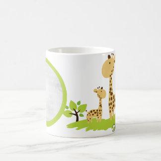 Giraffe Organic Planet Custom Mugs