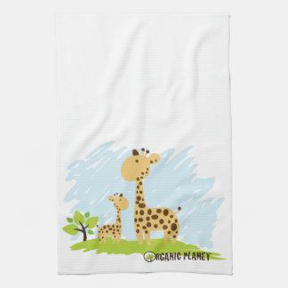 Giraffe Organic Planet Kitchen & Bath Towels