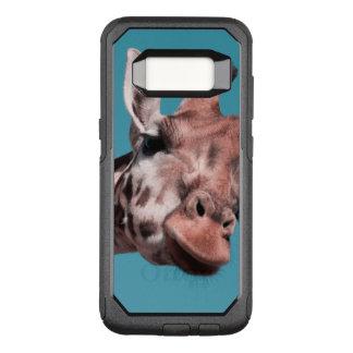 giraffe OtterBox commuter samsung galaxy s8 case