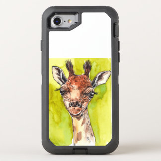 Giraffe OtterBox Defender iPhone 8/7 Case
