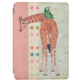 Giraffe & Parrot iPad Case iPad Air Cover
