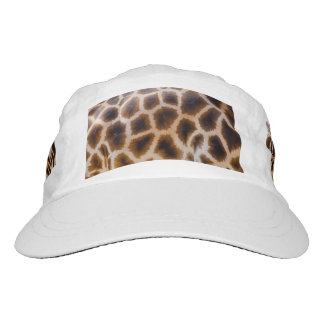 Giraffe Patches Spotted Skin Texture Template Hat