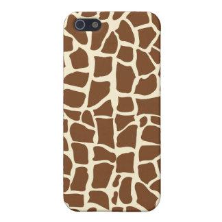 Giraffe pattern animal print iPhone 5 case