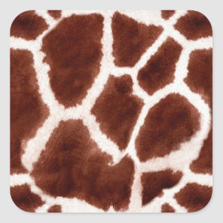 Giraffe Pattern Animal Print Sticker
