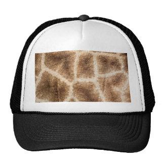 Giraffe pattern cap
