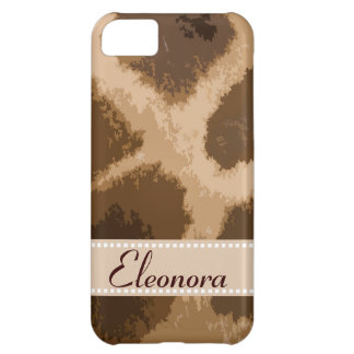 Giraffe Pattern iPhone 5C Covers