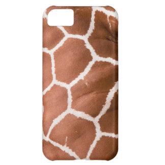 Giraffe pattern iPhone 5C cases