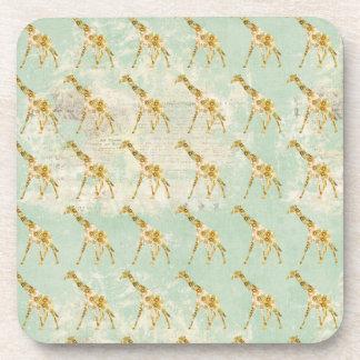 Giraffe Pattern Coaster