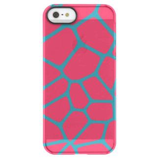 Giraffe Pattern Fuchsia Permafrost® iPhone SE/5/5s Case
