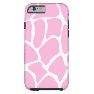 Giraffe Pattern in Candy Pink. Tough iPhone 6 Case