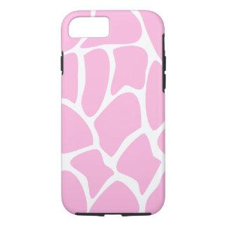 Giraffe Pattern in Candy Pink. iPhone 7 Case