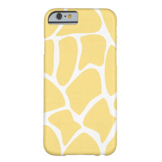 Giraffe Pattern in Yellow. Barely There iPhone 6 Case