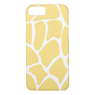 Giraffe Pattern in Yellow. iPhone 7 Case