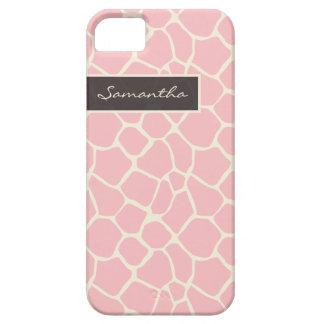 Giraffe Pattern iPhone 5 Case-Mate Case (pink) iPhone 5 Cases