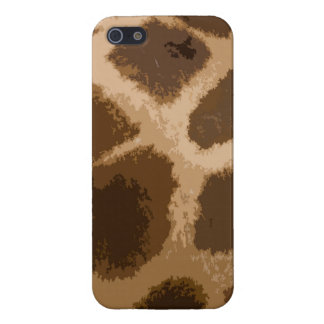Giraffe Pattern Covers For iPhone 5