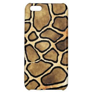 GIRAFFE PATTERN CASE FOR iPhone 5C