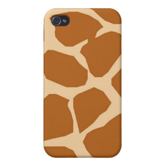 Giraffe Pattern Cover For iPhone 4