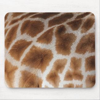 Giraffe pattern mousemat